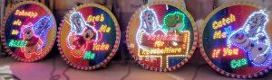 Alu-Dibond Schilder mit LED Licht