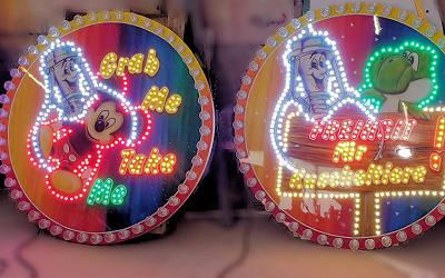 LED-Lauflicht Schilder