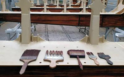 Atelier Siefert Maseriewerkzeug zur Holzimitations-Malerei