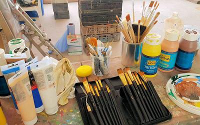 Malerei Atelier Siefert Pinsel Malerei Techniken