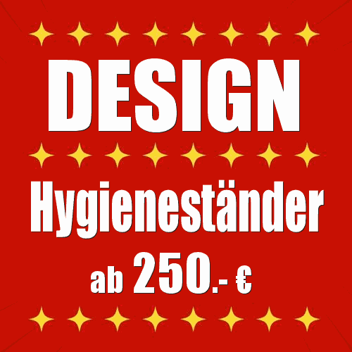 Design Hygieneständer